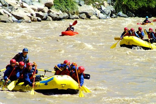 Adventure on Andes Mountain: Rafting...
