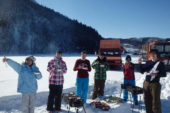 Snowshoe Trekking in Satoyama and BBQ...