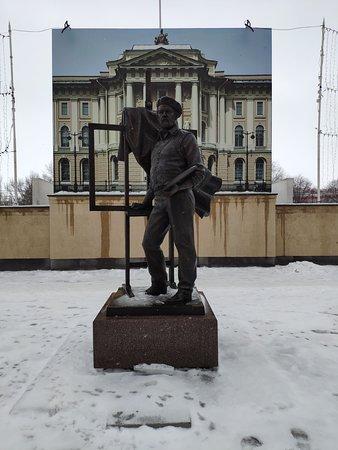 A.A. Mylnikov Monument