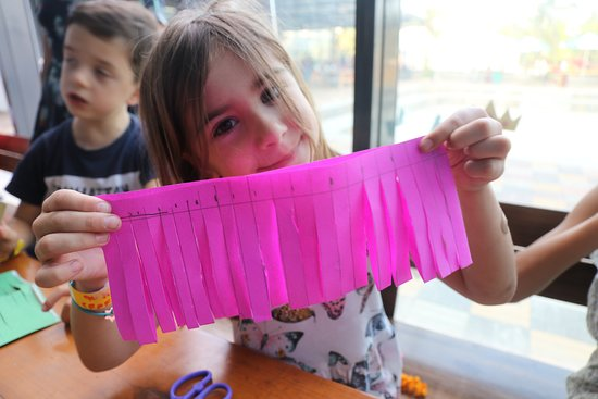 Arts and Crafts at Torq03. The best place to leave your kids to themselves and have a fun time.
