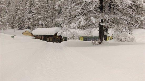 Obergesteln, Schweiz: Source du Rhone Restaurant