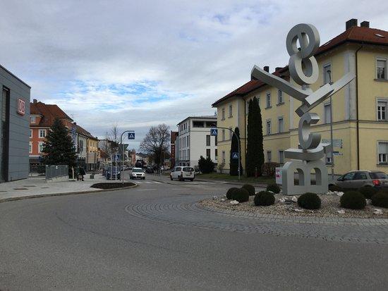Buchloe, גרמניה: Vor dem Buchloe Bahnhof