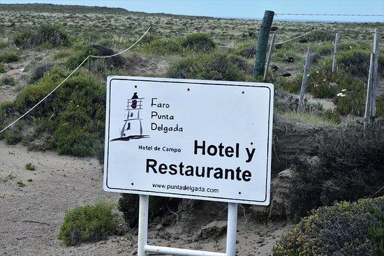 Punta Delgada, อาร์เจนตินา: En plena estepa patagónica y sin agua potable