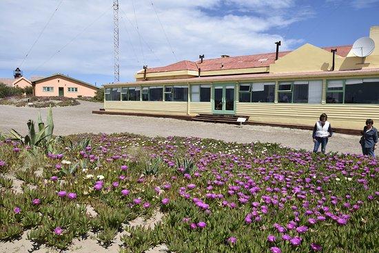 Punta Delgada, อาร์เจนตินา: Vista exterior del comedor