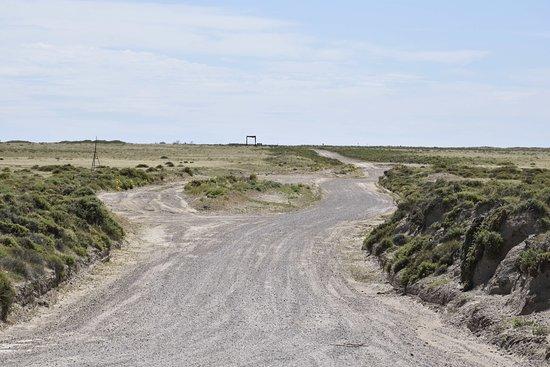Punta Delgada, อาร์เจนตินา: en plena estepa patagónica
