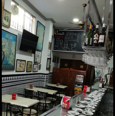 Bar típico sevillano
