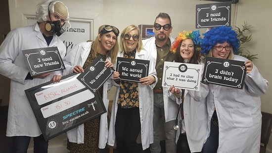 Live Escape Salisbury escape rooms