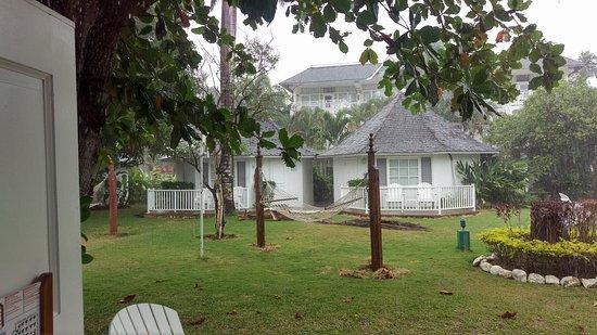 garten bungalow blick vom bungalow in den garten - picture of royal