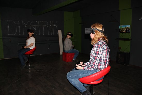 Virtual Reality Club DiMatrix