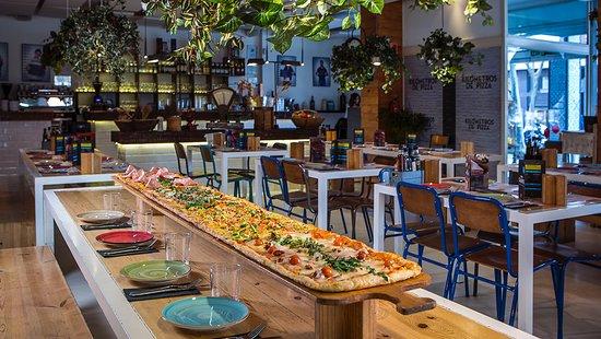 Foto De Kilómetros De Pizza Madrid La Terraza De