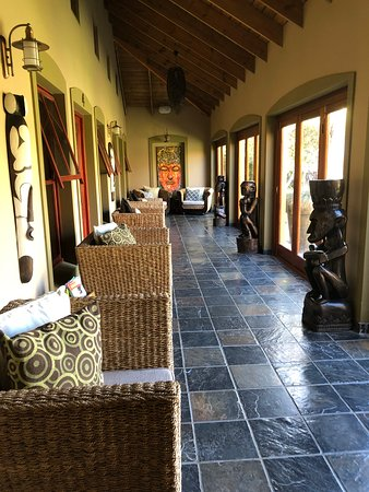 VillaChad Guesthouse: Afrikanisches Flair