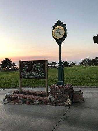 Rolex Clock and map of Golf Course , Photo de Hilton La