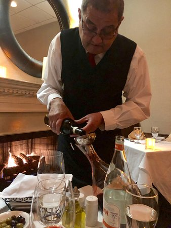 decanting of wine