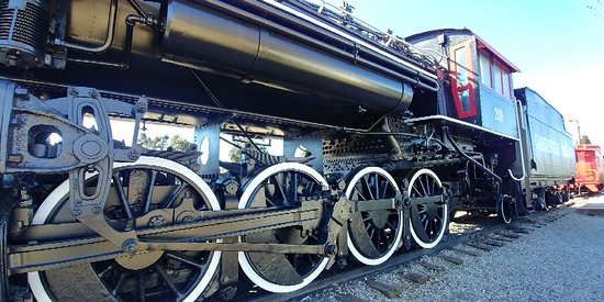 Gainesville's Steam Locomotive