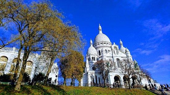Bazylika Sacré-Cœur (Najświętszego Serca) w Montmartre