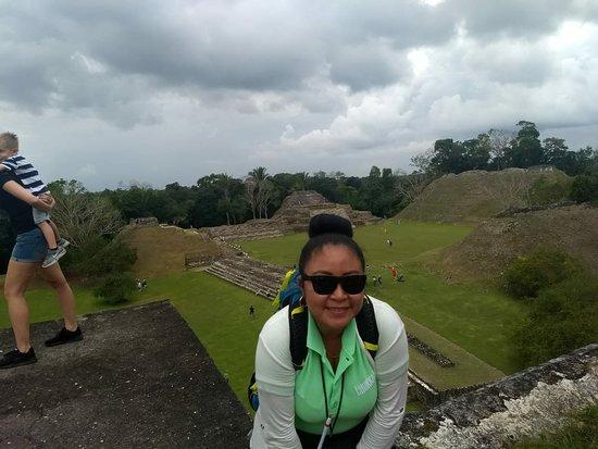 Santa Elena, Belize: Exploring Altun ha