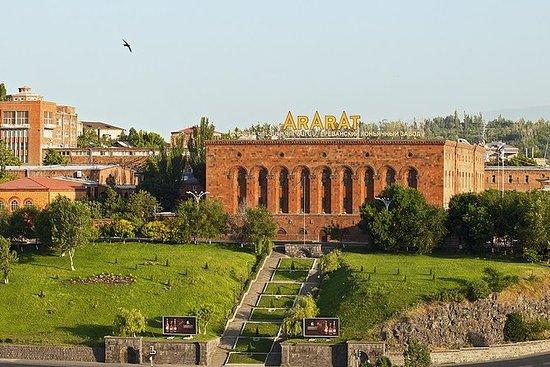 Recorrido por la ciudad de Ereván...