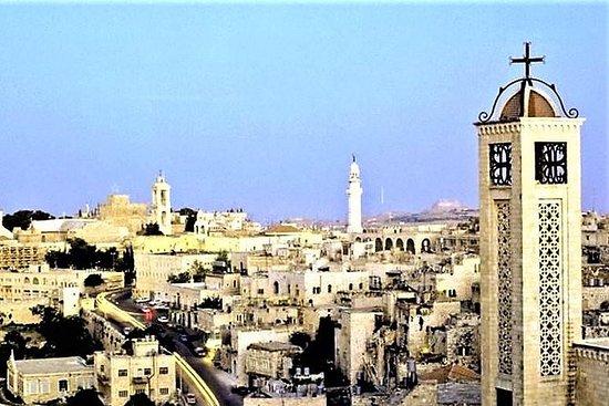 Bethléem Jérusalem et la mer Morte...