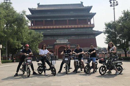 Elektrisk sykkeltur i gamle Beijing