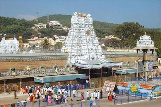Santo Tirupati con Pondicherry