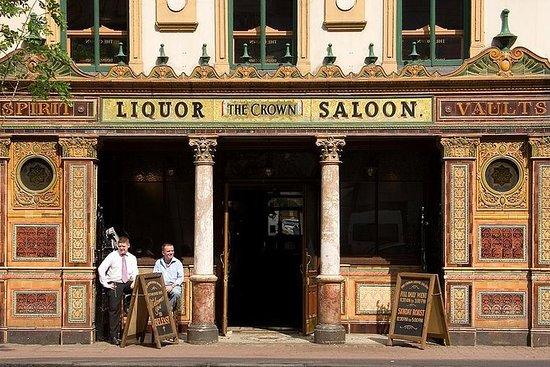 Historiske puber i Belfast Walking...