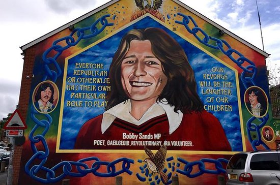 Belfast Mural Private Tour et sites...