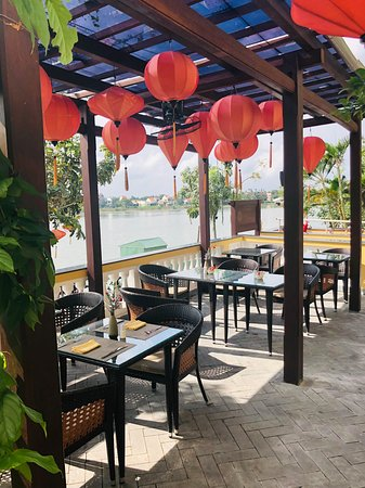 River-side restaurant