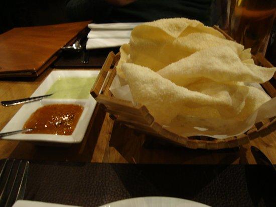 Mango Indian: entrada