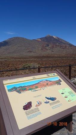 Parque Nacional del Teide, España: Mirador de Boca Tauce в Национальном парке Тейде, октябрь 2018 года