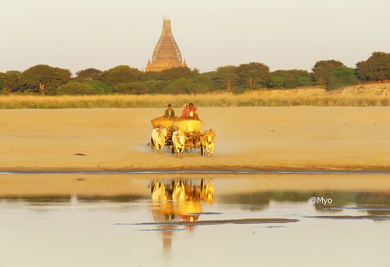 Bagan, is situated in the centre of Myanmar,over 2000 temples with numerous histories based on 11th to 13th century.It is attrective with its mural paintings and finest architecture styles of the Temples.You can access the real Burmese's way of life there.