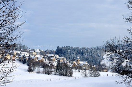 Franche-Comte, France: Petit village franc-comtois