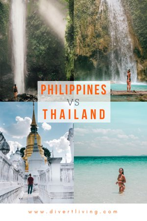 Filippinerna: Like many of them out there, are you also confused of where to go? Philippines or Thailand for my next destination?! Both these island countries have their own charm and beauty! We have compared Philippines and Thailand based on our experiences! http://bit.ly/2RUhTzc