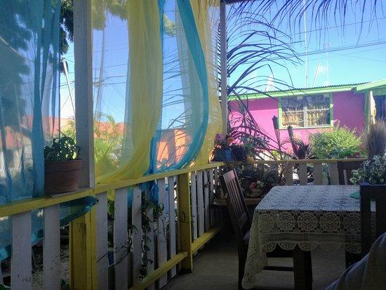Weston, Barbados: Marcy's garden seating