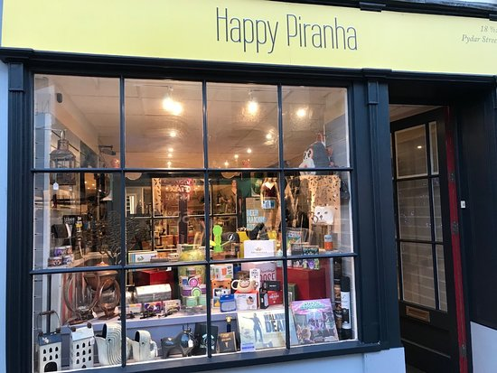 Happy Piranha Truro - Gift Shop