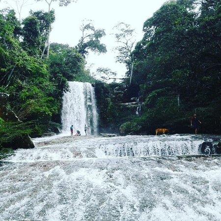 Lejanías, Colombia: Cascada en invierno