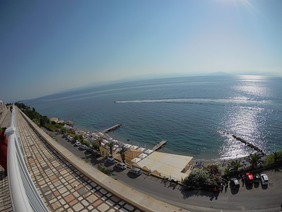 Louis Ionian Sun: View from roof terrace.