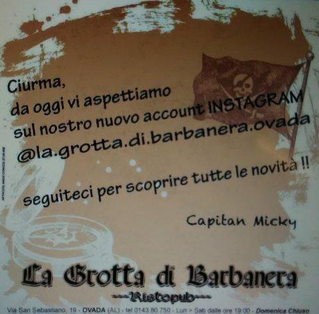 I pirati sono anche su Instagram.  Perchè su Facebook ci siete già vero? ;)