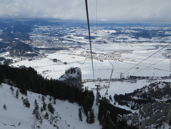 Halblech, Germany: view from Tegelberg