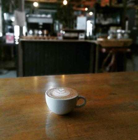 Hot Cappuccino.