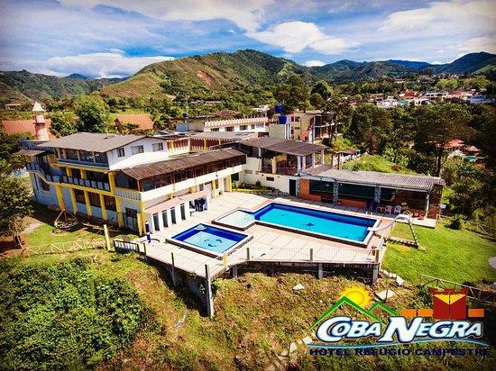 Chachagui, Colombia: hotel hubicado sobre el cañon del rio Pasto, con una vista a  volcan Galeras tambien serca del areopuerto Antonio nariño