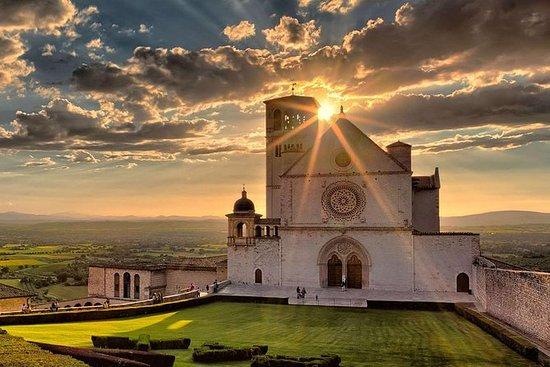 Assisi y Perugia cata de vinos...