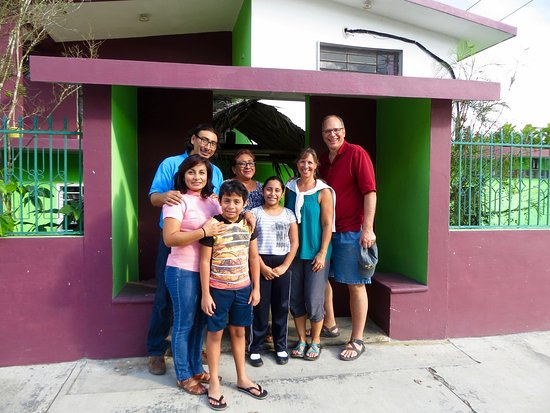 Felipe Carrillo Puerto, Mexico: It was hard to say goodby to our host family!