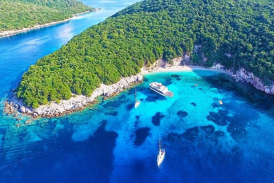 Sivota Islands og Blue Lagoon Cruise...