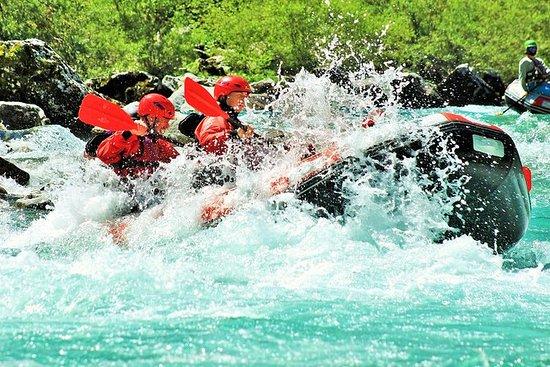 Rafting på Soča elven (Isonzo)