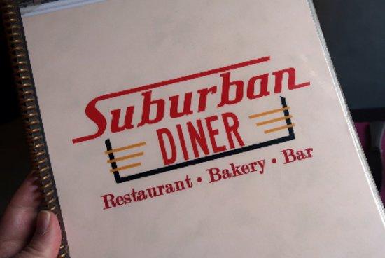 Suburban Diner: Menu.