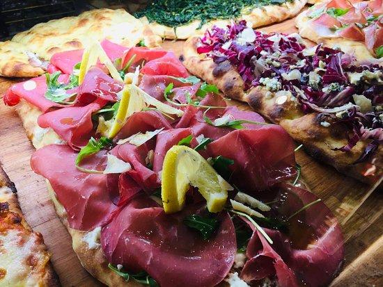 La nostra pizza gourmet