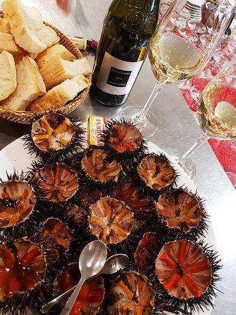 Brasserie Du Port: Oursins delicieux