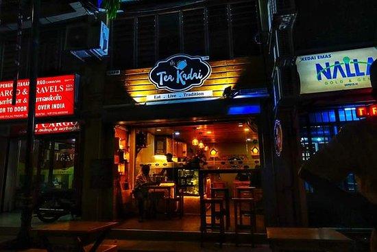 Teakadai Cafe: Night view