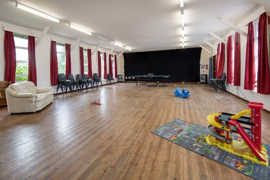 Bellingham, UK: Games/Function Hall with table tennis table and a selection of toys