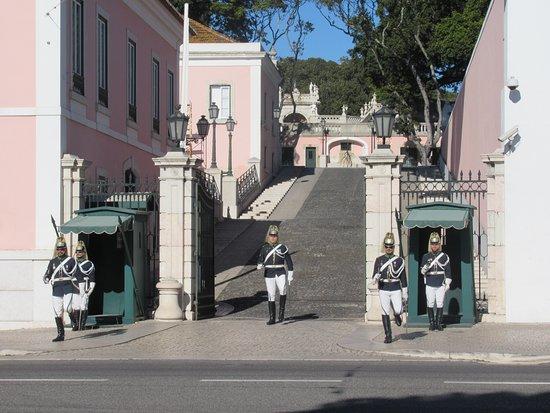 Palacio de Belem: 衛兵の交代